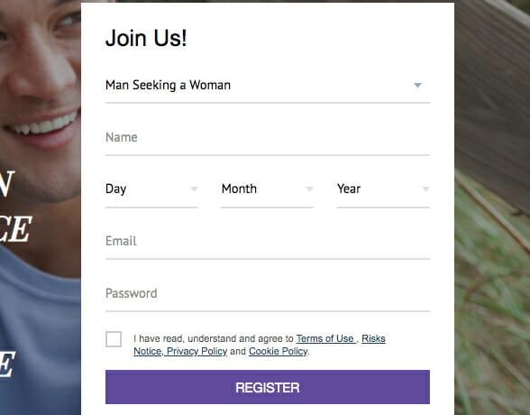 AsiaCharm register form