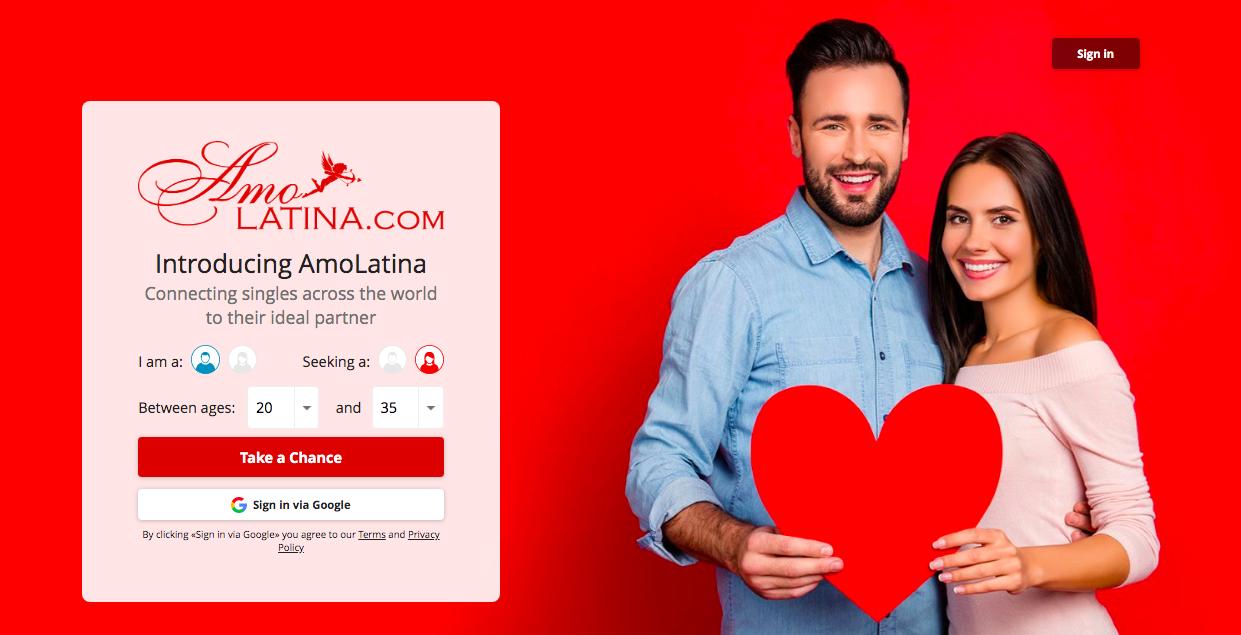 main page AmoLatina