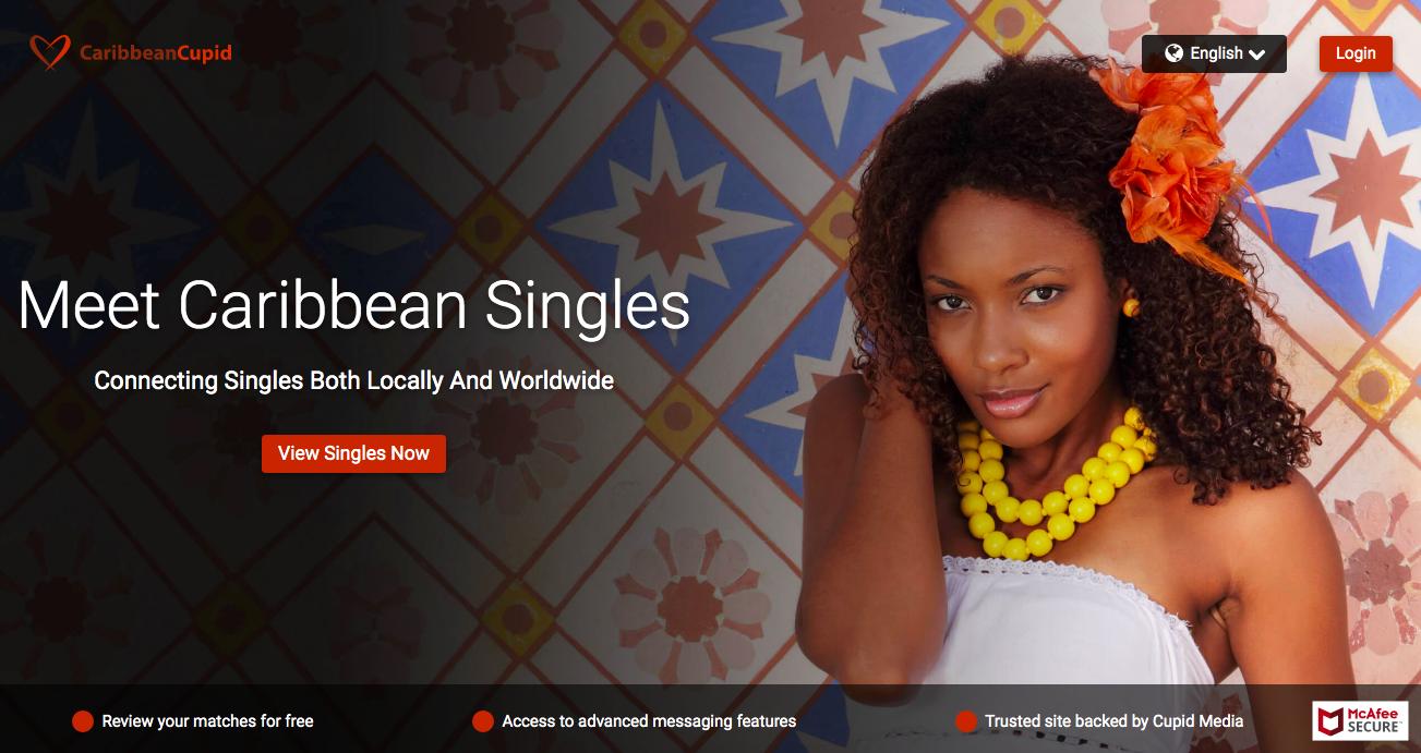 main page CarribeanCupid