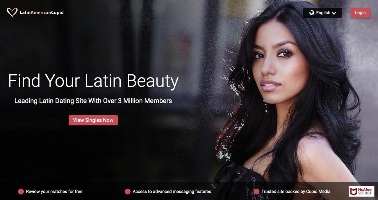 main page LatinAmericanCupid