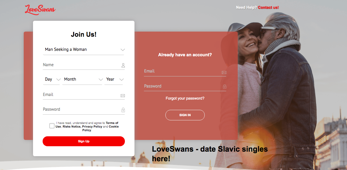 main page LoveSwans