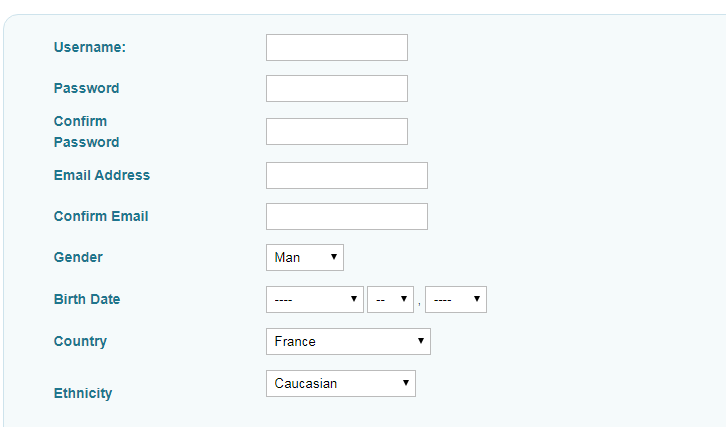 PlentyOfFish registration