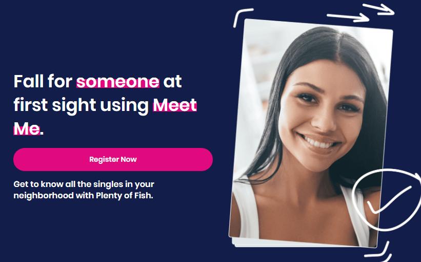 PlentyOfFish main page