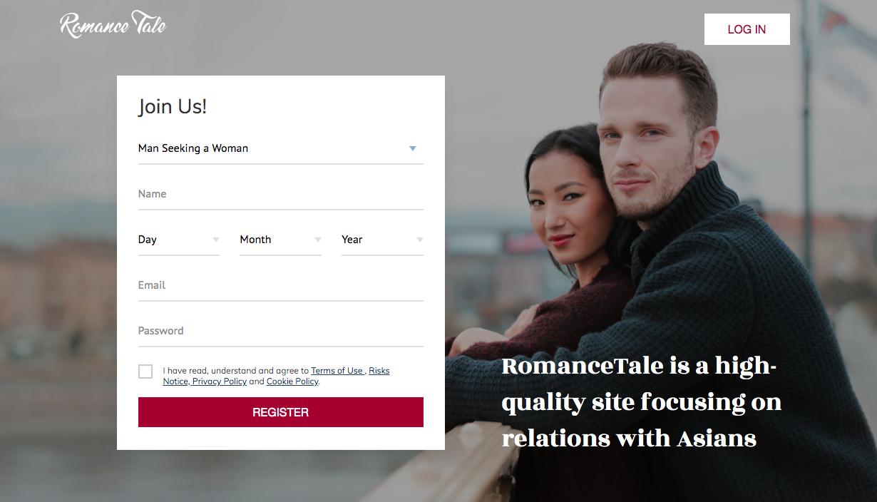 main page RomanceTale.com